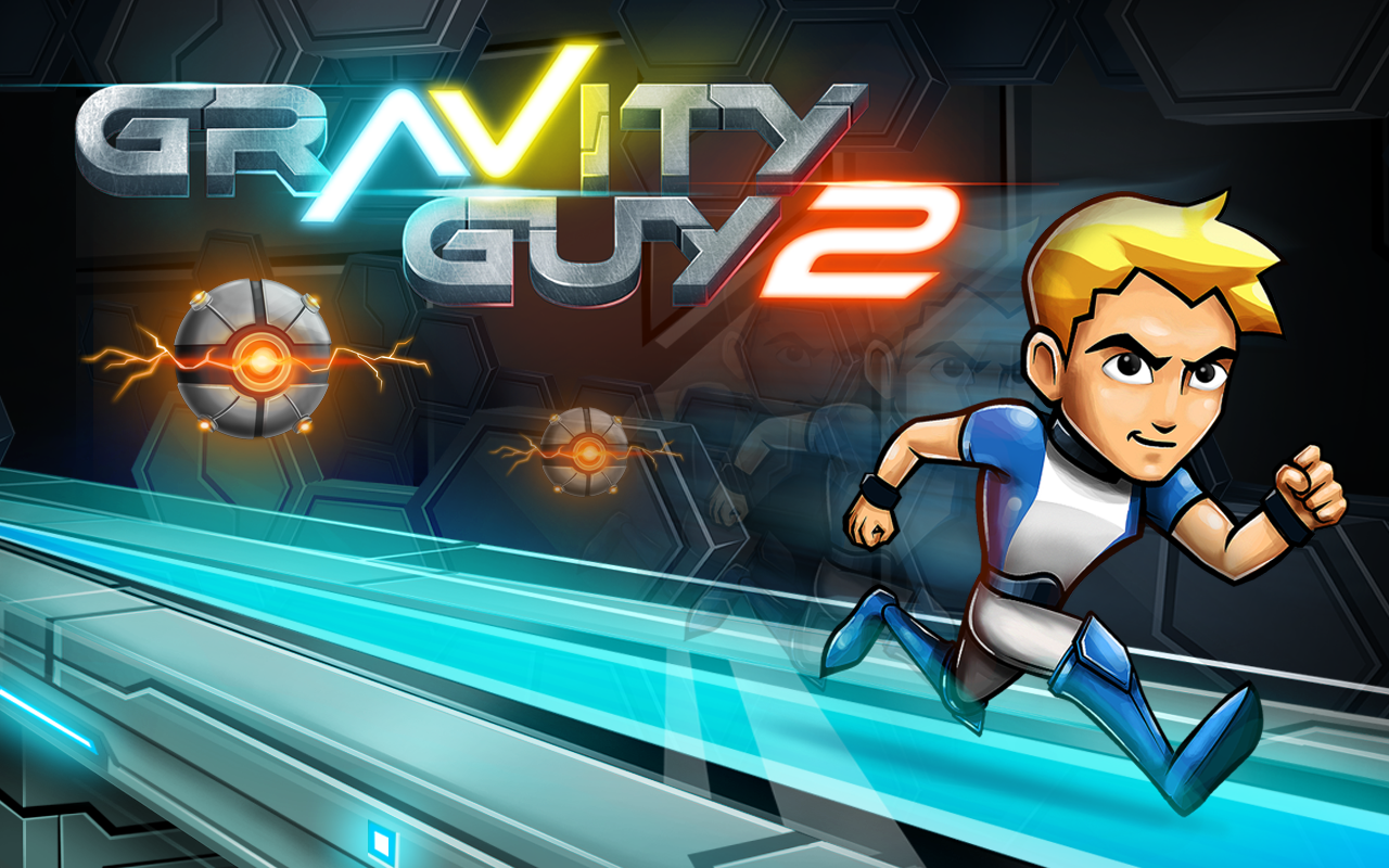 Gravity Guy 2: captura de tela