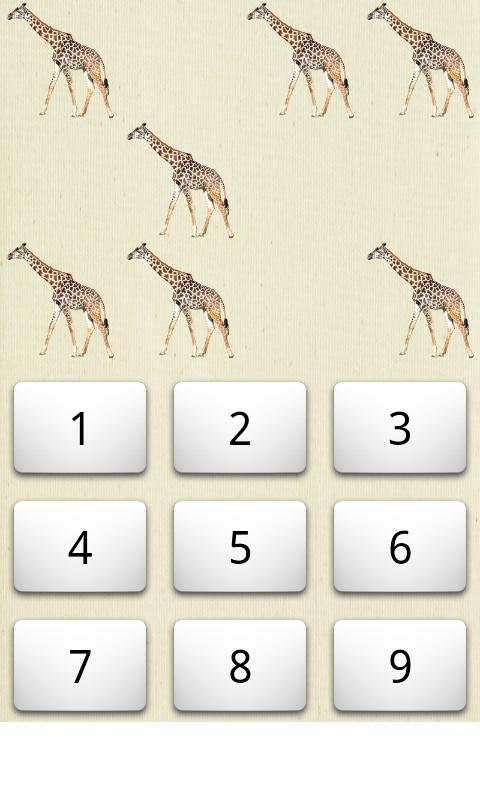 Counting Animals- screenshot