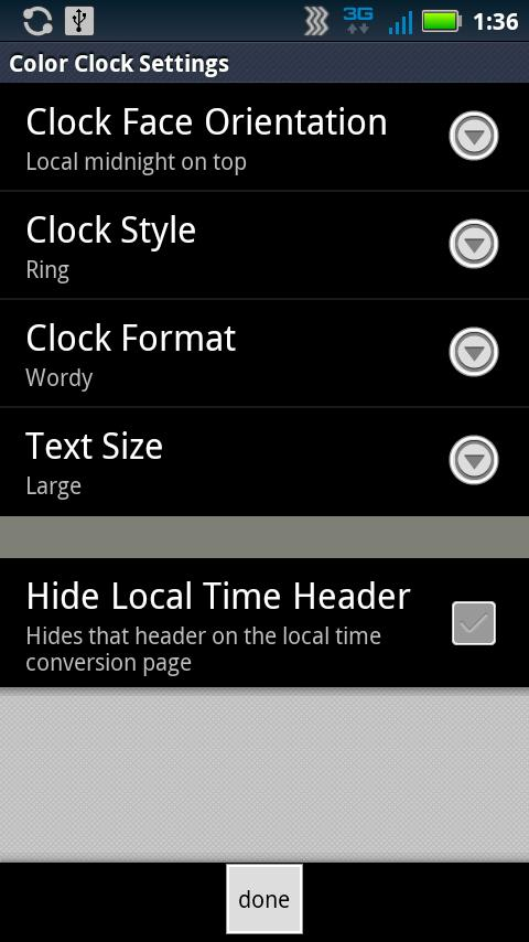 Color Time Clock- screenshot