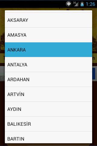 Android Cep Imsakiye 2013 Resimler