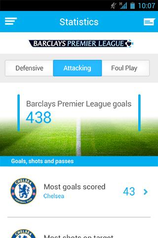 Barclays Football - screenshot