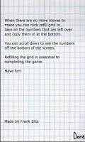 Screenshot of Notebook Numbers Trial