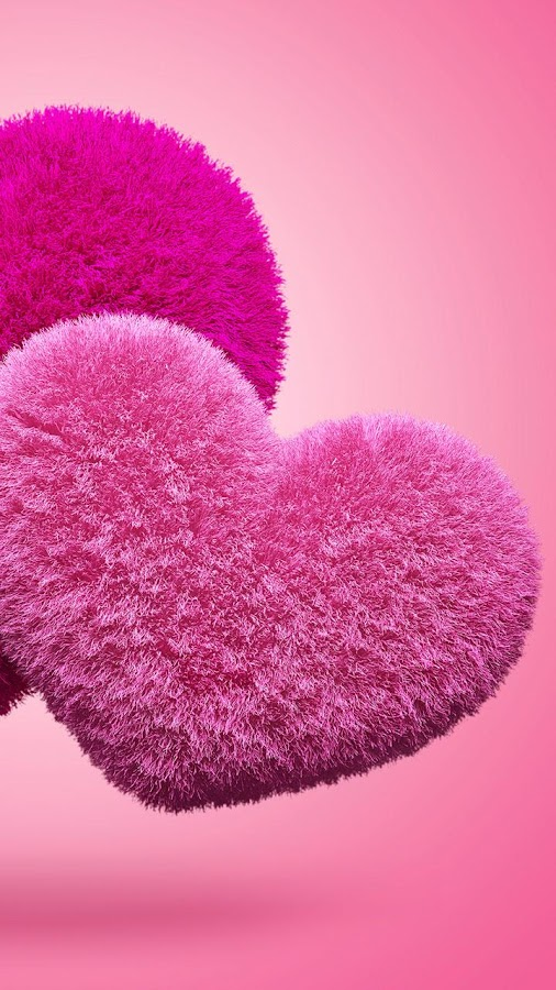Fluffy Hearts Live Wallpaper - screenshot