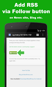 SocialLine for Feedly screenshot 4