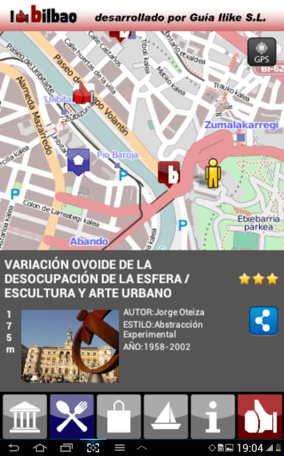 I LIKE BILBAO GUIDE - screenshot