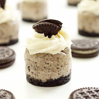 Cookies 'n Cream Mini Cheesecakes