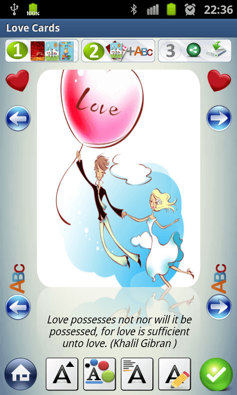 Love Cards & Letters- screenshot