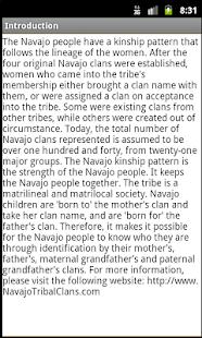 Navajo Clans: Native Language - screenshot thumbnail