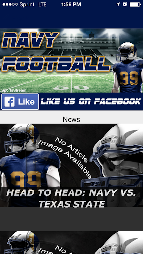 【免費運動App】Navy Football STREAM-APP點子