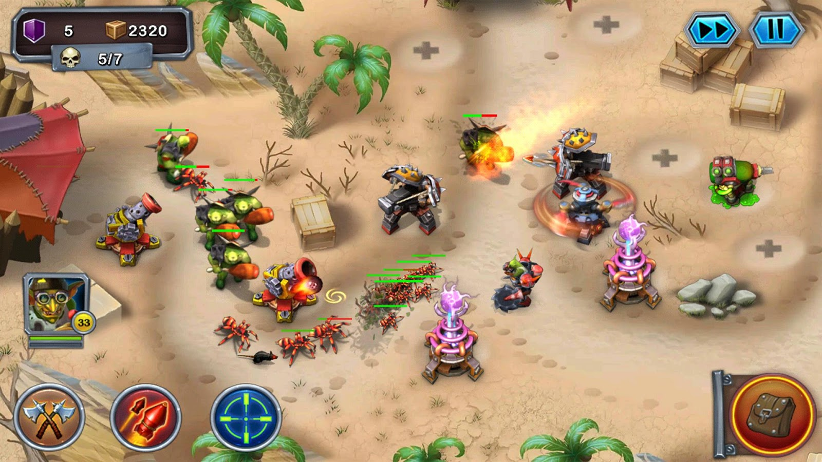 Goblin Defenders 2- screenshot