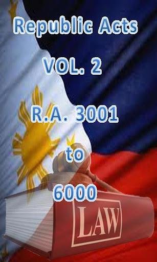 Philippine Laws - Vol. 2
