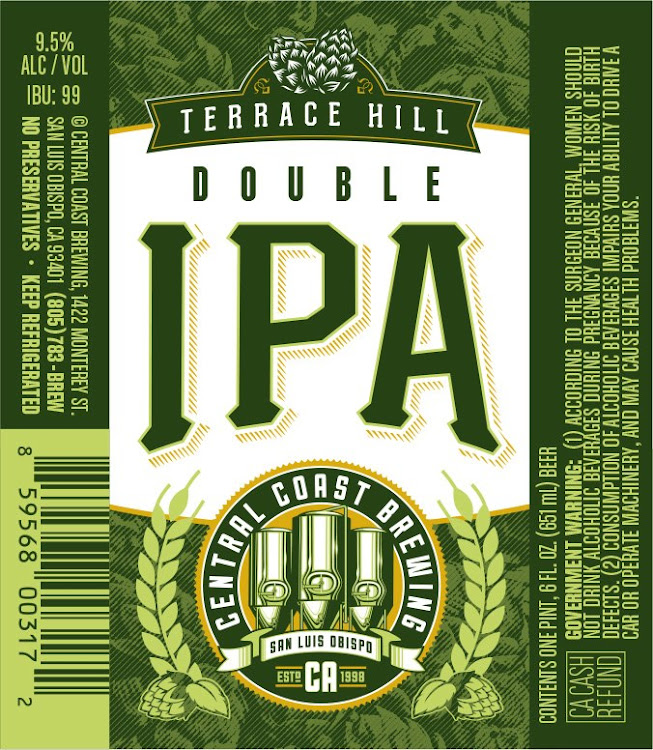 Logo of Central Coast Brewing Terrace Hill