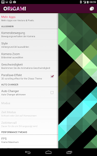 Origami Live Wallpaper Screenshot 22