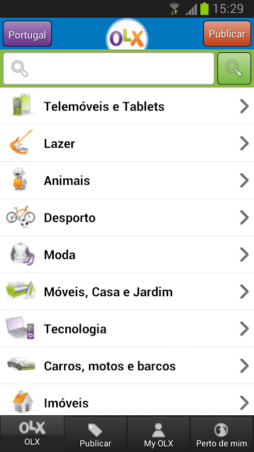 OLX Portugal - Classificados - screenshot
