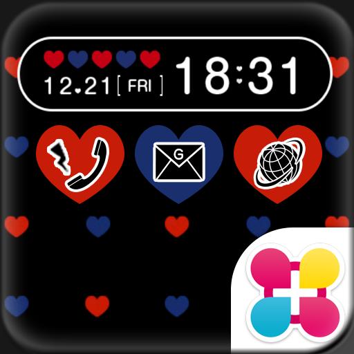 Polka-Dot Heart Wallpaper Icon