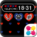 Polka-Dot Heart for [+]HOME icon