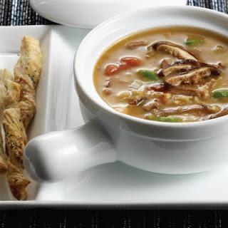 Shiitake, Beef, and Barley Soup