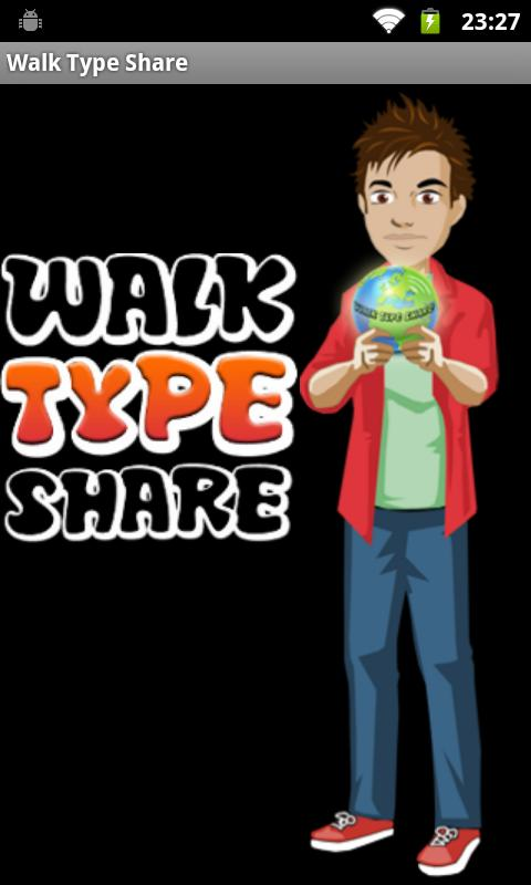 Walk Type Share- screenshot
