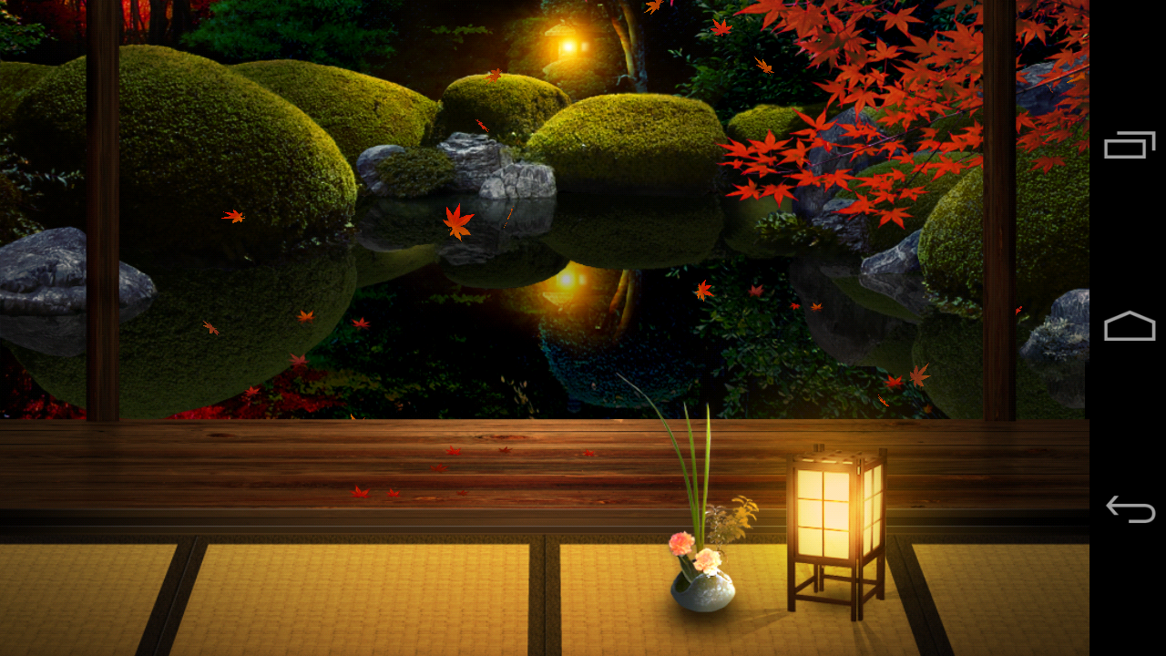 Zen Gardens Zen Garden Fall Lw Android Apps On Google Play