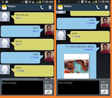 Screenshot of SMS MMS Messenger
