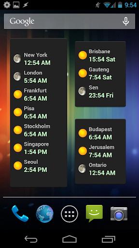【免費商業App】World Clock Widget-APP點子