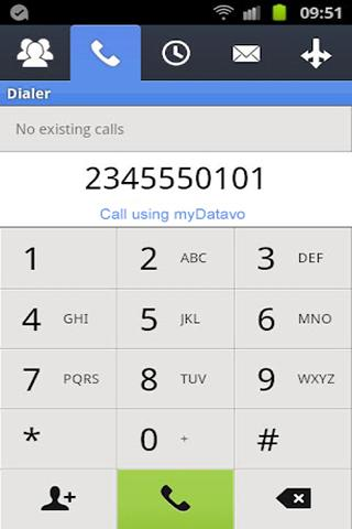 myDatavo Mobile- screenshot