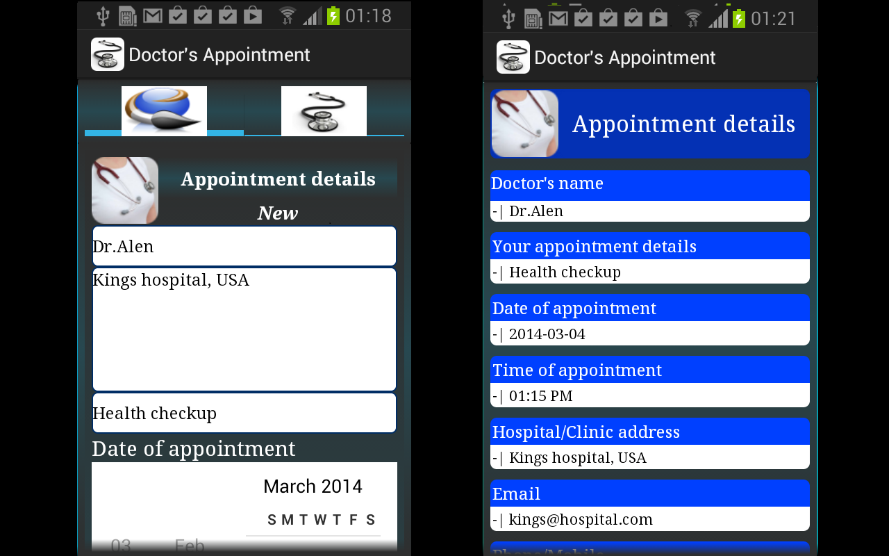 Doctor's Appointment - screenshot