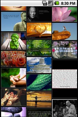 【免費媒體與影片App】Buddha Backgrounds-APP點子