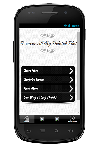 Recover All My Delete File Tip