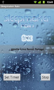 Sleepmaker Rain - screenshot thumbnail