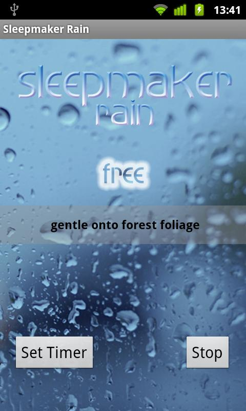 Sleepmaker Rain - screenshot