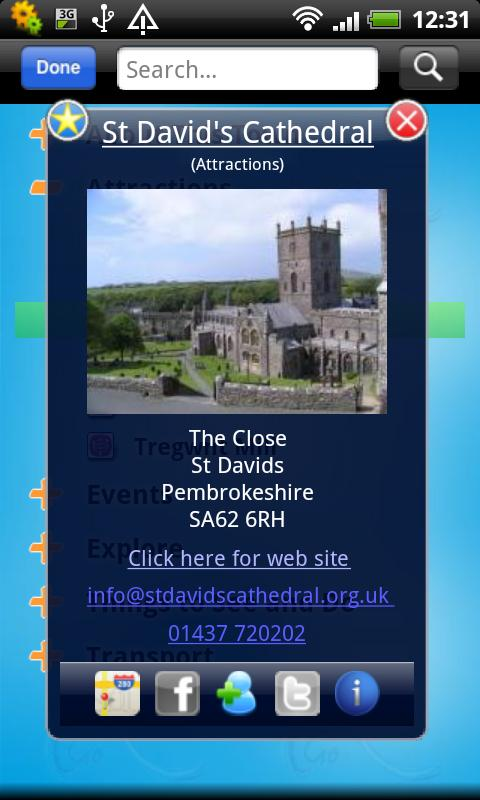 Fishguard Bay Guide - screenshot