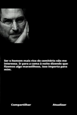 Frases de Steve Jobs - screenshot