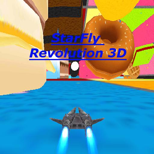 解謎App StarFly革命3Dデモ LOGO-3C達人阿輝的APP