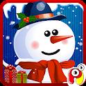 Snowman dress up Salon spa