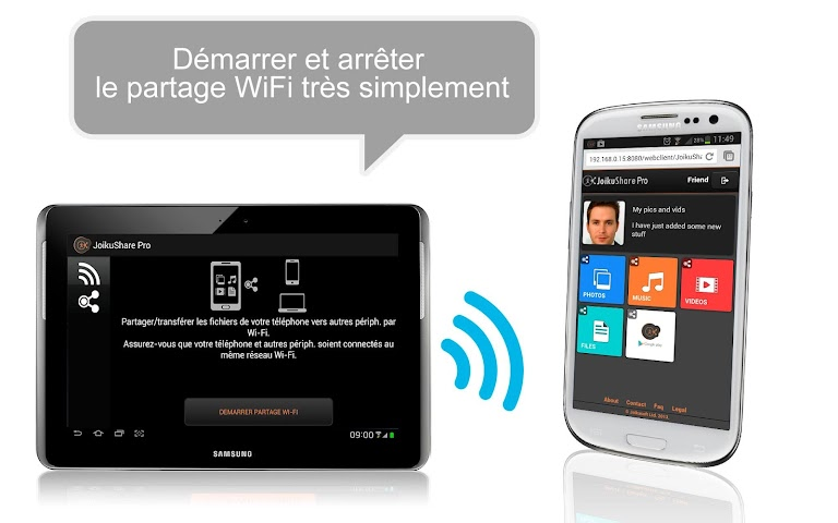 android WiFi File Share PRO Screenshot 4