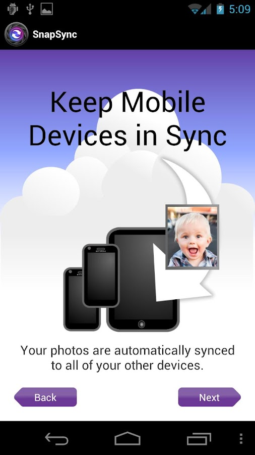 SnapSync - screenshot