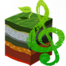 Music Download(grass green) icon