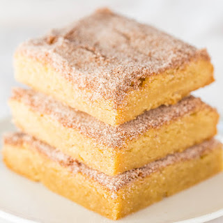 The Best Snickerdoodle Bars