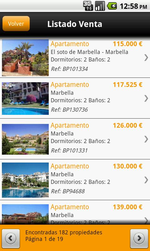 Bolsa Pisos- screenshot