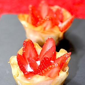Strawberry Crispies