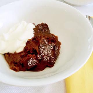 Quick Self Saucing Pudding
