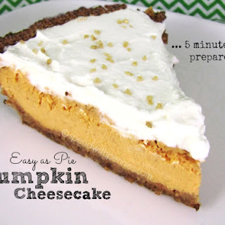 Easy as Pie! Pumpkin Cheesecake!