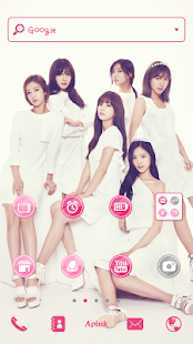 Apink P Dodol Launcher Theme