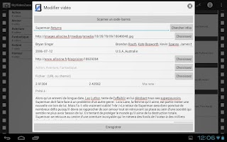 Screenshot of MyVideoZone