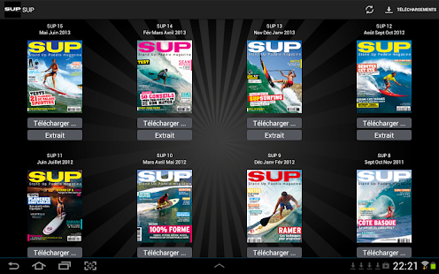 SUP Magazine- screenshot thumbnail