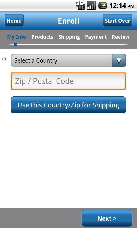 Unicity Sales- screenshot