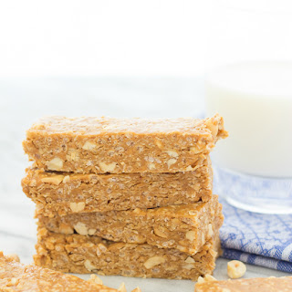 Nutty Peanut Butter Granola Bars {No Bake}