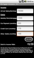 Screenshot of Mortgage Calculator Free