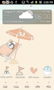 Peperico vacation Go Launcher - screenshot thumbnail